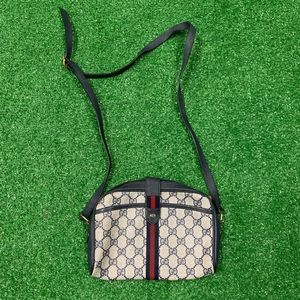 Vintage Gucci Supreme Crossbody Shoulder Bag
